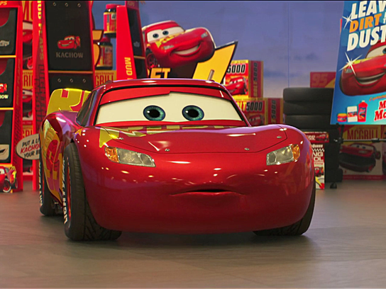 "Owen Wilson reprises his voice role as Lightning McQueen in ""Cars 3,"" now on Blu-ray, DVD and streaming sites."
