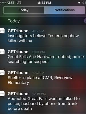Great Falls Tribune app
