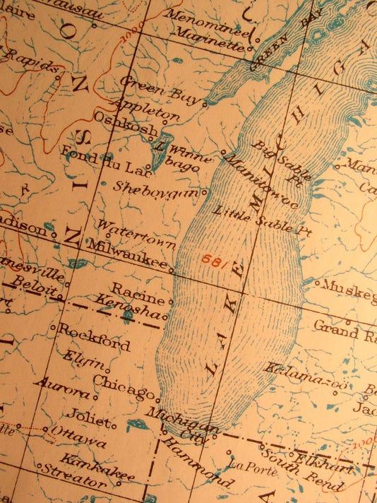sheboygan map