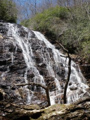 Bill Van Horn of Franklin took this photo of High Falls in the Southern Nantahala Wilderness Area. He and his wife, Sharon, complete the Wilderness Hike Challenge of hiking more than 120 miles in 12 Southeast wilderness areas.