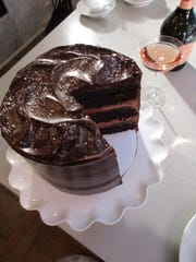 The Earl's Court Chocolate Cake at The Cake Bake Shop