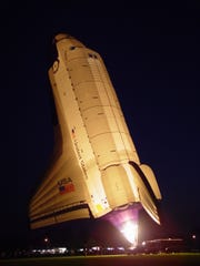 The Space Shuttle Patriot's pilot is Barry DiLibero,