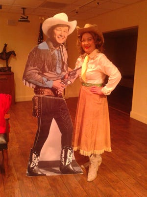 """Chautauqua scholar Kay Sebring-Roberts Kuhlmann in """"The Way You Ride the Trail: An Hour with Dale Evans"""" April 22 at Best Western Plus Ruidoso Inn."""
