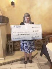 Scholarship Winner Rosemarie Davis, Iselin.