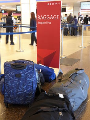 At just about every airport, the route a bag takes