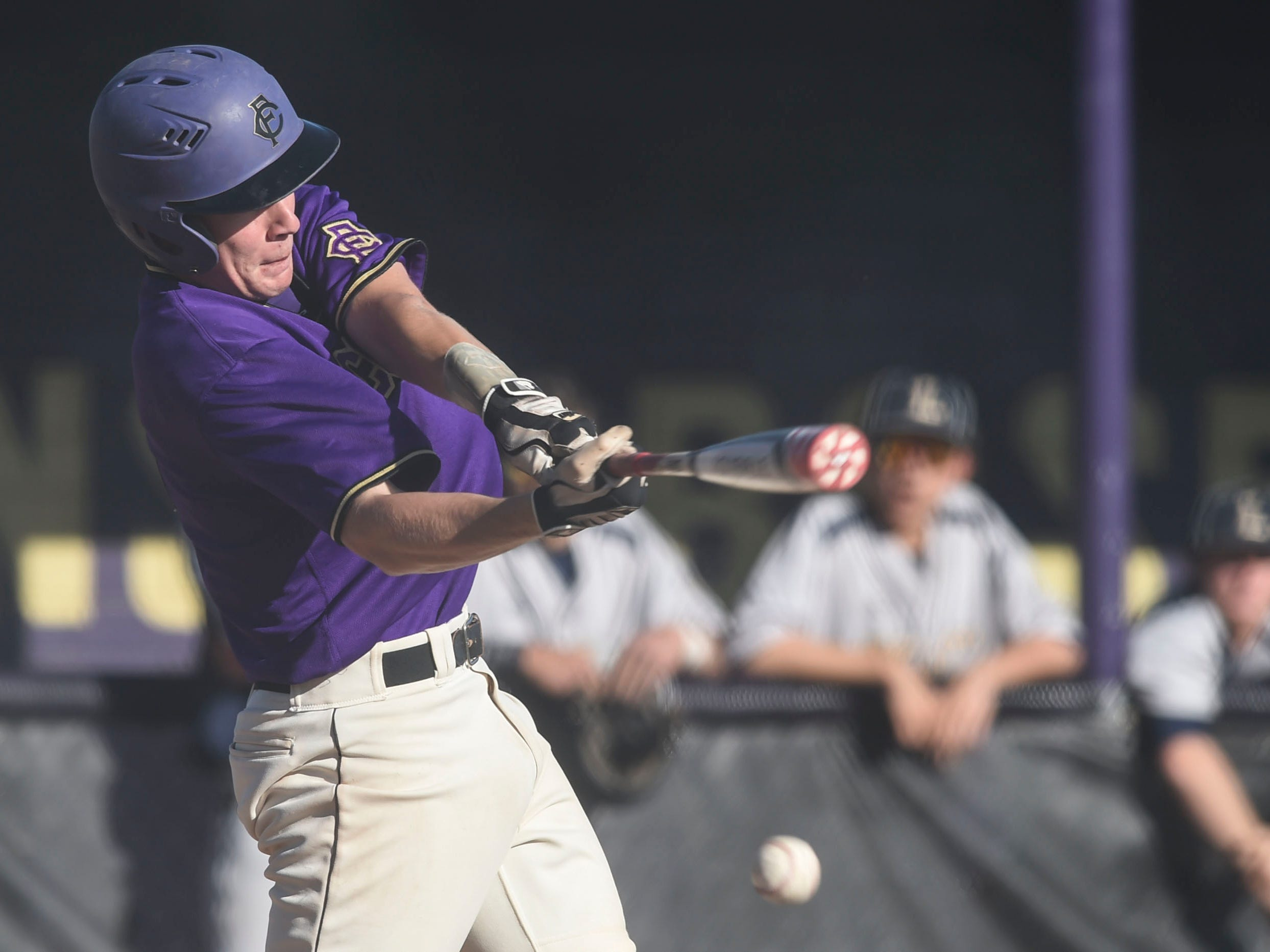 The Fort Collins High School baseball team plays Rocky Mountain at 6:30 p.m. Tuesday at City Park.
