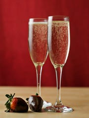 Relax with a couples massage and enjoy champagne and