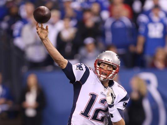 NFL: New England Patriots at Indianapolis Colts
