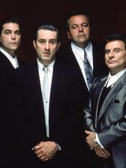 Ray Liotta, Robert De Niro, Paul Sorvino and Joe Pesci