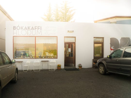 A coffee and dessert bar in Iceland.
