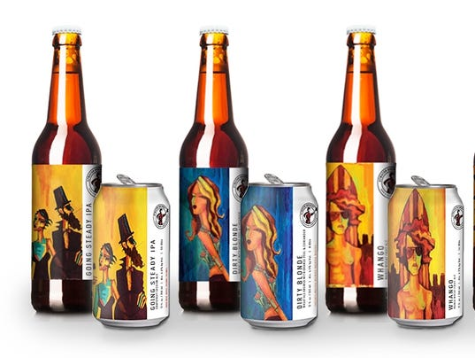 Atwater Beer Labels Go Artistic Chic