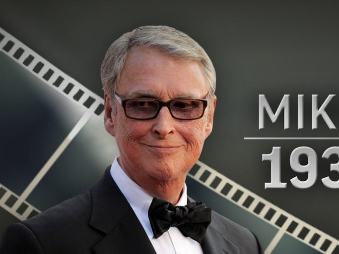 Mike Nichols, esteemed director and husband of Diane