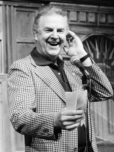 Aug. 18, 2014: Announcer Don Pardo on Sept. 25, 1982. Pardo, the durable television and radio announcer whose resonant voice-over style was widely imitated and became the standard in the field, died Monday in Arizona at the age of 96.