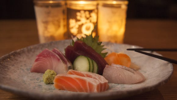 Sashimi is part of the all-you-can-eat dinner offered at Sushi Masa.