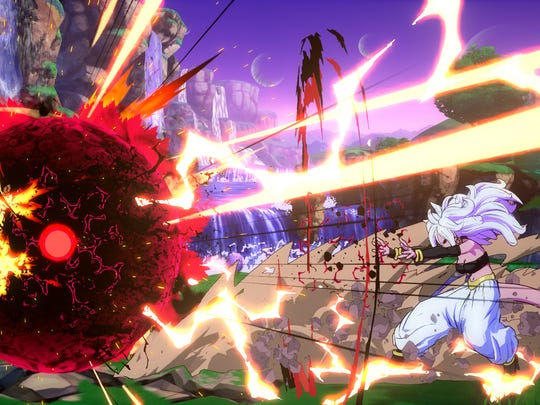 Dragon Ball FighterZ for PS4 and Xbox One.