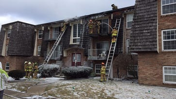 Fire at West Lafayette apartment complex