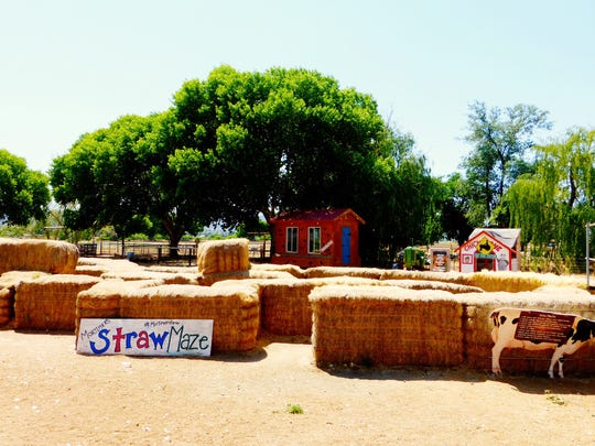 The park at Mortimer Farms offers kids a chance to