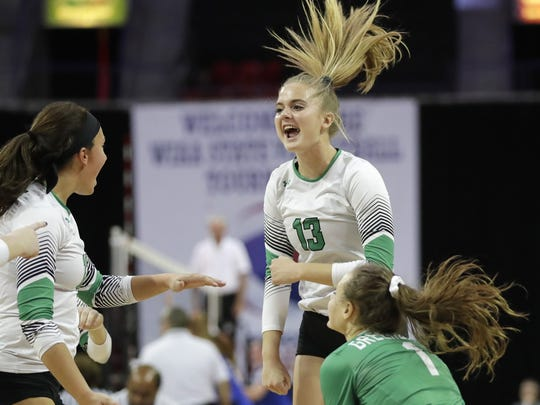 Greendale senior setter Kayce Litzau is a four-year starter who has committed to play at Wichita State.