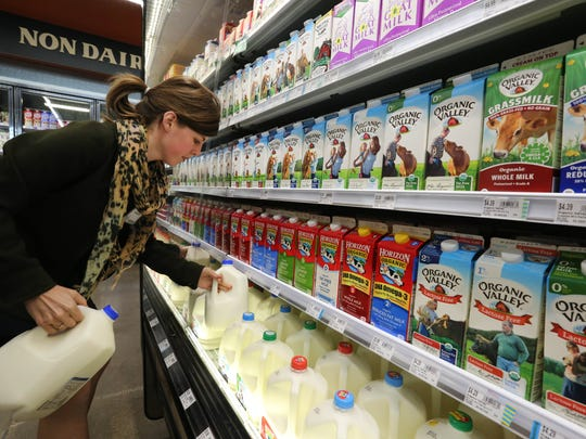Dairy milk has increasing competition from products