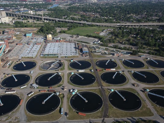 Detroit Water and Sewer Department's Wastewater Treatment Plant