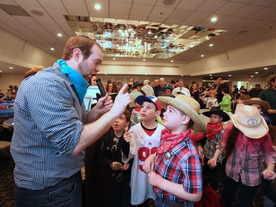 A Cowboy Purim celebration was held at the New City