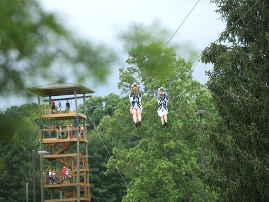 "Asheville Zipline Canopy Tours has been offering an ""urban"" zip line experience as well as a Kids Aerial Adventure Park for several years, which hosts the annual Zipping for Autism fundraiser every June."