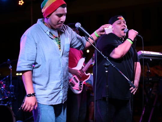 Reggae group Mozaiq, seen performing at the 2015 Tachevah Music Showcase, will perform at an EP release party Saturday in Indio.
