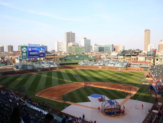USP MLB: ST. LOUIS CARDINALS AT CHICAGO CUBS S [BBA OR BBN] USA IL