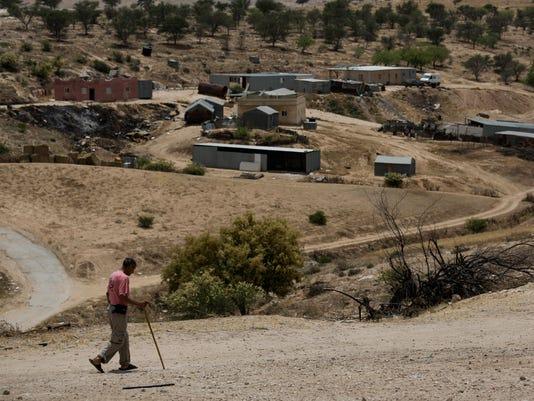 Mideast Israel Bedouin Battle