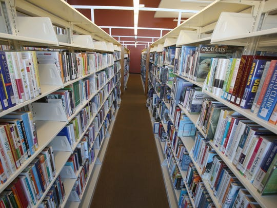 Inside the Rancho Mirage Library.