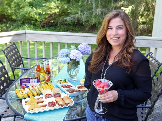 "Rebecca Berman has a new celebrity talk show called ""The Cooler"" where she will interview people and share fun food tips around a cooler. Rebecca Berman is photographed at her home in Armonk, July 24, 2015."