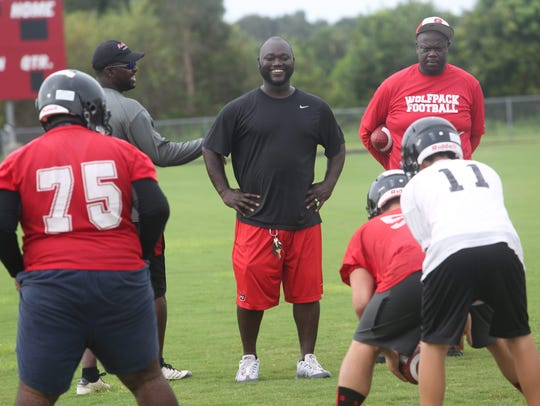 Anthony Dixon is taking over the reigns as head coach