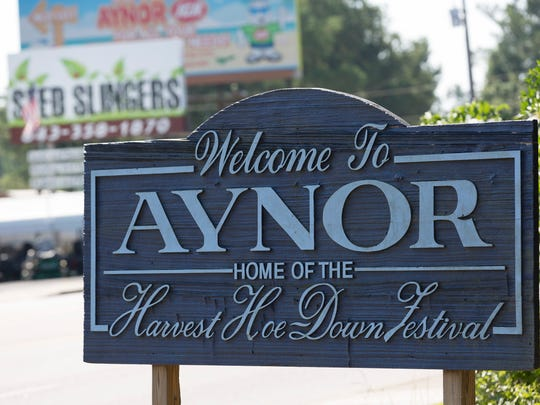 Aynor, S.C., is a small town approximately 30 miles