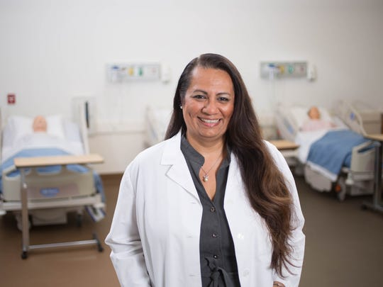 Faculty mentors like Abbigail Bravo, RN, Nursing Program Instructor at College of the Desert, are important contributors to student success, providing students with the emotional and academic support needed to achieve their goals.