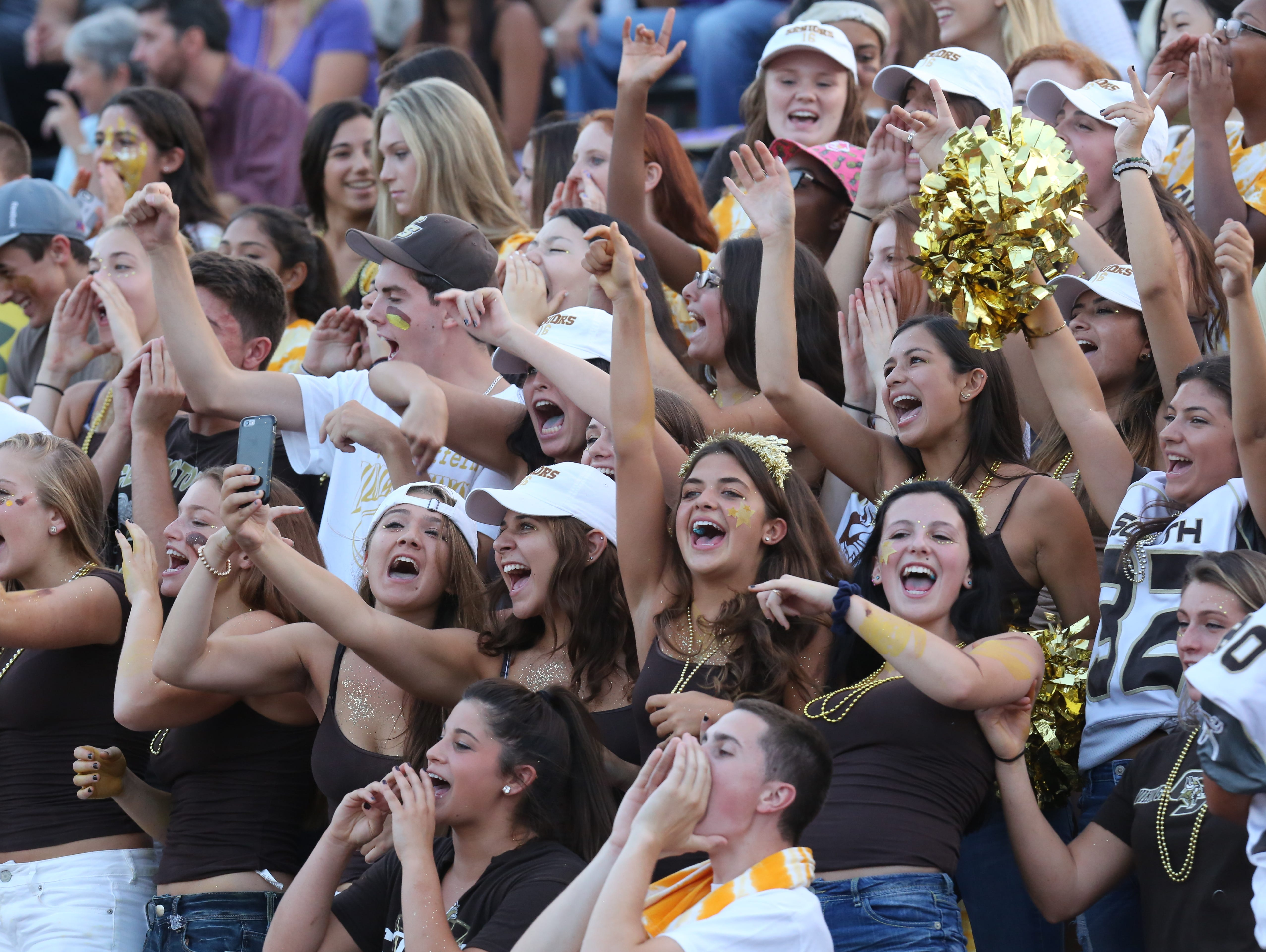 Clarkstown North plays at Clarkstown South in West Nyack Sept. 4, 2015.
