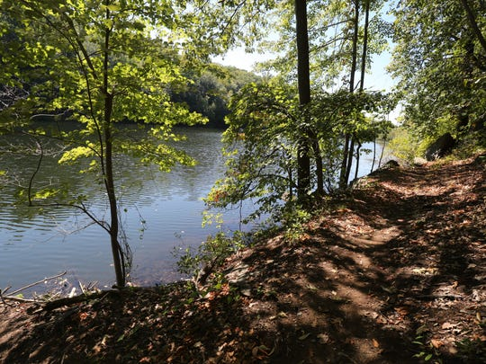 A view from the newly opened Twin Lakes Trail, a 2.3 mile loop, at Teatown Lake Reservation in Ossining, Sept. 17, 2015.