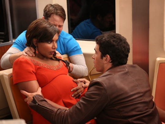 An image from Season 4, Episode 1 of 'The Mindy Project.'