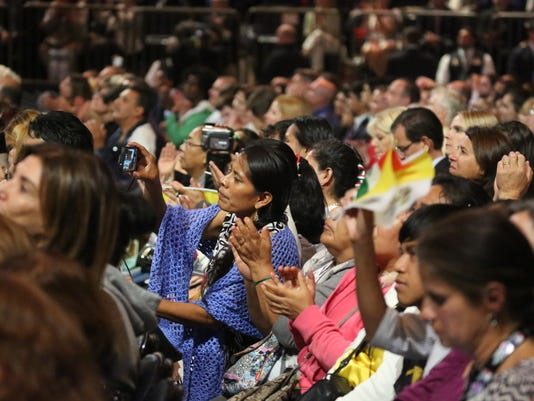 Pope Francis Mass MSG