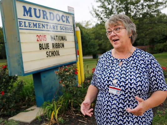 LAF Murdock national blue ribbon school
