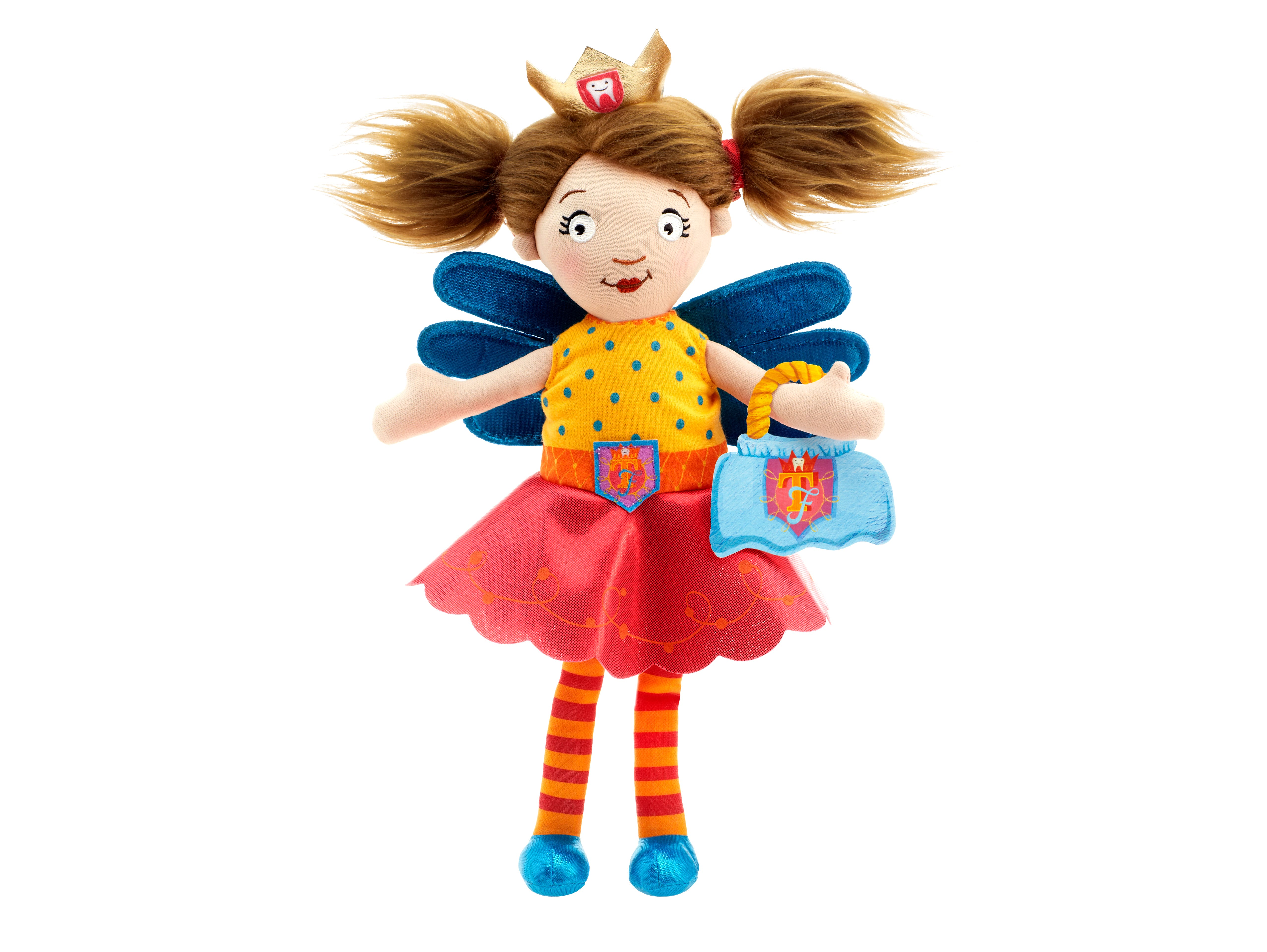 Children/'s Girls Tooth Fairy Doll With Magical Pocket For Missing Lost Tooth