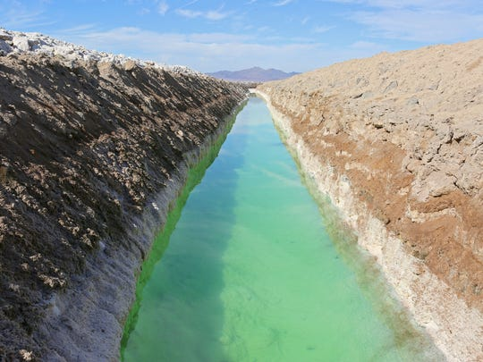 National Chloride Co. mines salt from the water that evaporates at Bristol Dry Lake near Cadiz's proposed water project.