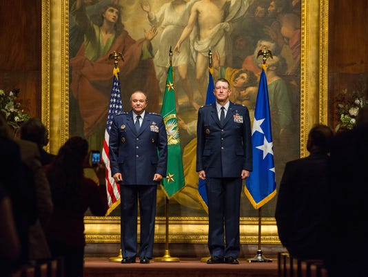 Commissioning Ceremony for Chaplain Colonel George Youstra was held in BJU's War Memorial Chapel