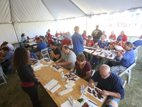 California State BBQ Championship took place at the