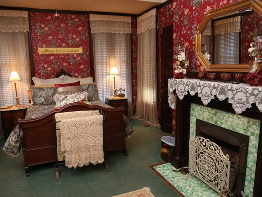 This room at the Fitzgerald House was used for a scene