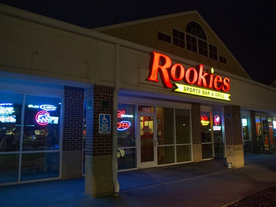 Rookies Sports Bar and Grill.