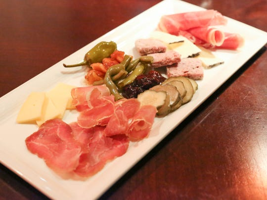 Charcuterie and Salumi Plate is served at the Silver Grille in Silverton.