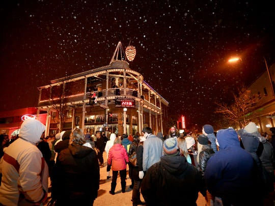 Thousands are expected to fill the streets of downtown Flagstaff on New Year's Eve for the Weatherford Hotel's Great Pinecone Drop.
