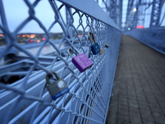 Purple People love locks