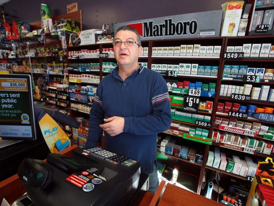 Bashar Aljamal the owner of CC Smoke Shop in Cathedral