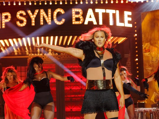 The 'Lip Sync Battle' season premiere featuring Channing